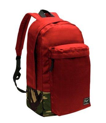 【SUMDEX】PON-123RD紅色15.6吋 探險家休閒後背包