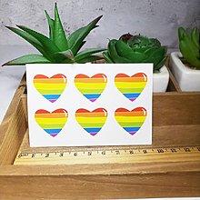 【萌古屋】迷彩臉部彩虹 - 防水紋身貼刺青貼紙ZR01 K12