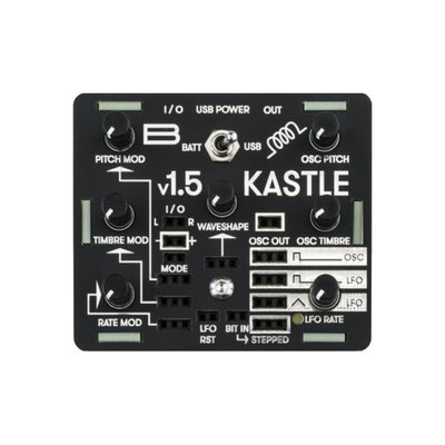 [DigiLog] 全新 Bastl Instrument Kastle v1.5 合成器