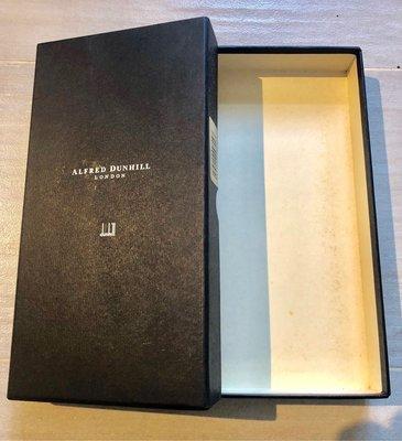 真品【Alfred Dunhill】London原裝銀包錢包紙盒wallet paper box深籃色,100%新Agnes