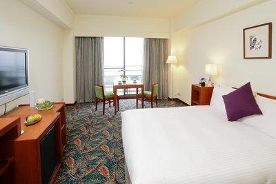 石門水庫福華渡假飯店 雅緻雙人房(二小床),含早餐 兩人同行,每人1200起,另有威斯汀、知本老爺、夏都,線上服務您。