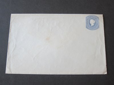 【雲品】毛里求斯Mauritius QV Cover one Shilling Unused