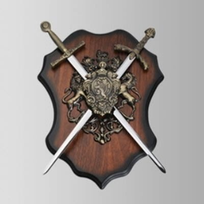 掛飾 壁掛 擺件-中古世紀歐騎士風居家擺飾用品2款73a20[獨家進口][巴黎精品]