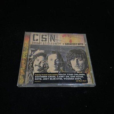 二手 CD Crosby Stills Nash Greatest Hits / lo