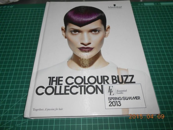 《THE COLOUR BUZZ COLLECTION》八成新 2013.SPRING/Summer 精裝本 外觀角微損