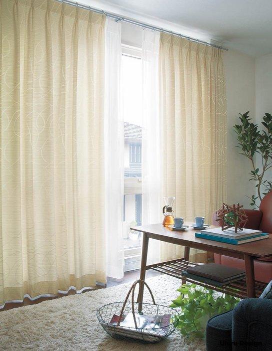 【Uluru】日本窗簾布藝.日式簡約 (3色) 剌繡 菱格 格紋 訂製窗簾 捲簾 羅馬簾 波浪簾 S簾 蛇型簾 美式鄉村