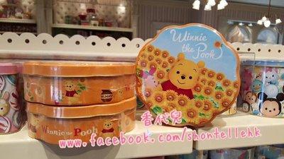 香港 迪士尼代購 Disney 小熊維尼 跳跳虎 屹耳 餅乾盒 曲奇盒 (香代兒)