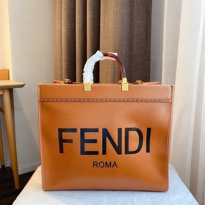 名品部落~Fendi最新款 頂級貨女包 高端大號tore購物袋超大容量歐美范兒十足手提包單肩斜挎包05RX865