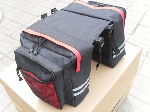 全新 自行車馱包 後貨架包 登山車馱包 30L 環島必備 自行車包 K23