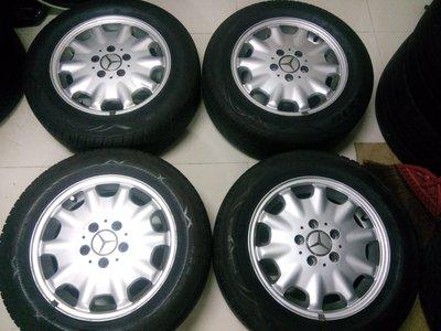 賓士原廠15吋鋁圈W124-W210-W202--W203-W211-E320-E230-E280