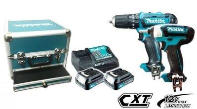 【花蓮源利】客訂牧田 12V雙機組 TD110 衝擊起子機 + HP333 震動電鑽 雙1.5A CLX228SX1