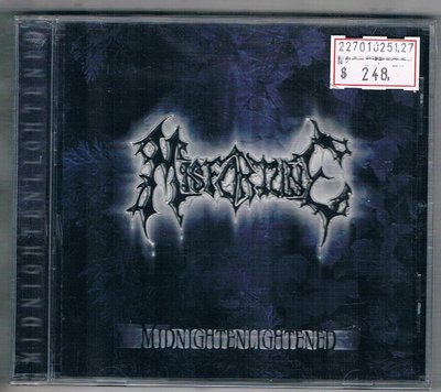 [鑫隆音樂]西洋CD-Misfortune: Midnightenlightened {BLACK015CD} 全新