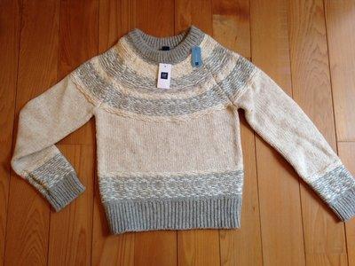 國際品牌童裝 GAP毛衣 購於舊金山 全新標牌已拆 $1500免運 7-8歲