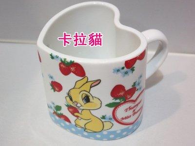 台南卡拉貓專賣店 迪士尼 邦妮兔 愛心 造型 馬克杯 杯子269732 可繡字 可明天到