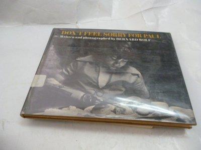 此無500免運/崇倫 《Don't Feel Sorry for Paul Hardcover – 1974by Ber