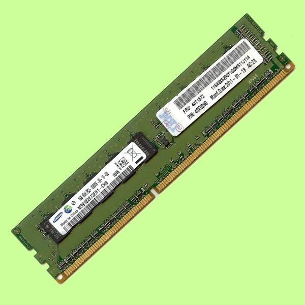 5Cgo【代購】IBM X3100用1GB 1G DDR3 ECC 44T1568 44T1572 43X5290含稅