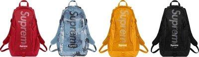 全新商品 Supreme 20SS 48th Backpack 後背包 背包