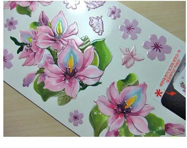 小妮子的家@韓國可重複貼立體貼紙/壁貼/瓷磚貼/玻璃貼/家具貼TL 17065