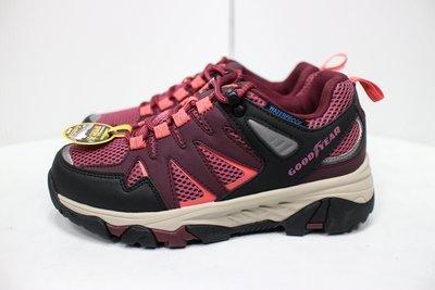 現貨即出 GOOD YEAR 固特異 森林之王 女鞋 防水 登山運動鞋 登山鞋 運動鞋 越野鞋 桃紅 GAWO02422