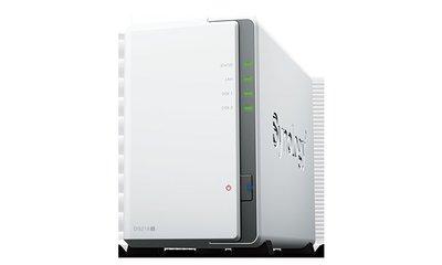 免運~需客訂~Synology 群暉科技 DiskStation DS218j NAS 網路儲存伺服器(不含硬碟) 高雄市