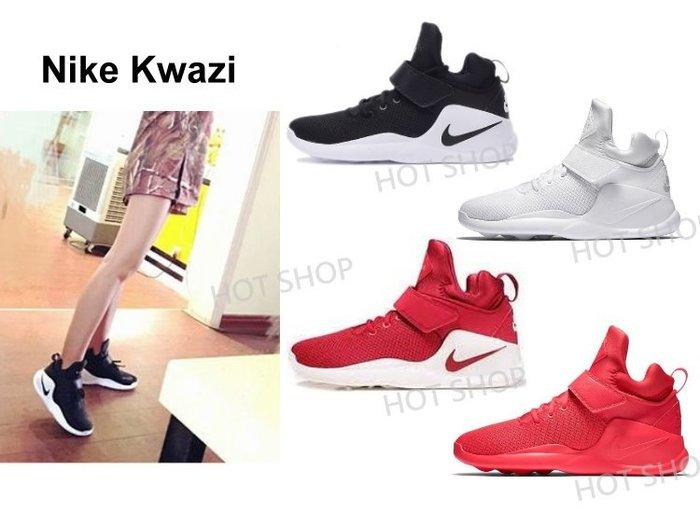NIKE KWAZI 運動鞋 小椰子 慢跑鞋 平民款 休閒鞋 魔鬼氈 籃球鞋 黑色 白色 紅色 男鞋 女鞋 情侶鞋