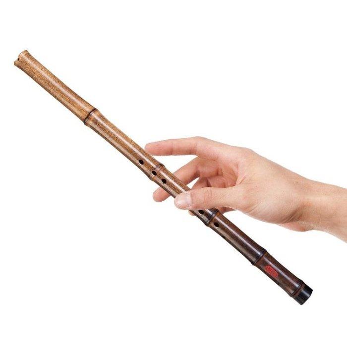 蕭樂己精製紫竹簫一節洞簫短蕭樂器成人兒童初學入門g調f調八孔