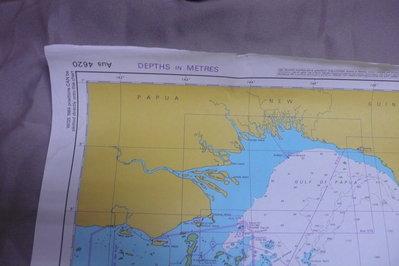 紫色小館90-----DEPTHS IN METRES-PERCY ISLES TO BOOBY ISLAND