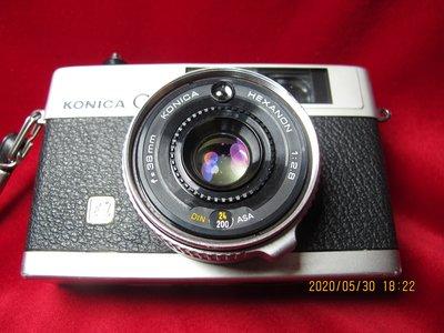 KONICA C35 E&L   38mm f2.8 目測對焦