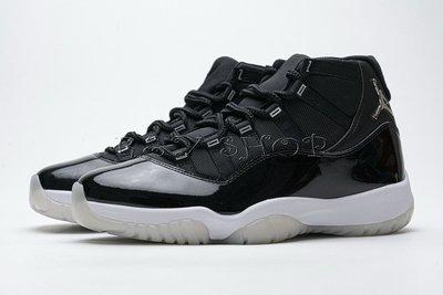 Air Jordan 11 25th Anniversary Black Silver  CT8012-011
