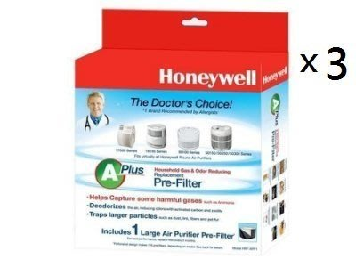 三入組 Honeywell CZ除臭濾網 HRF-APP1 (適用Honeywell 多種機型)適用HAP-100