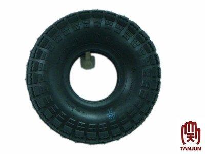 [天掌五金]10英吋 350-4 外胎 輪胎 風輪 車輪 推車輪 四輪車輪