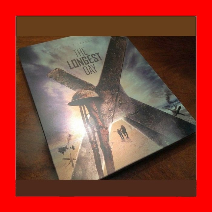 【BD藍光】最長的一日:雙碟限量鐵盒版(台灣繁中字幕)The Longest Day大地驚雷 約翰韋恩
