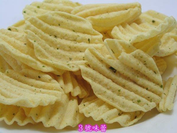 3 號味蕾~洋芋片1800g(海苔-純素、烤雞、沙茶)量販價..另有多款洋芋系列