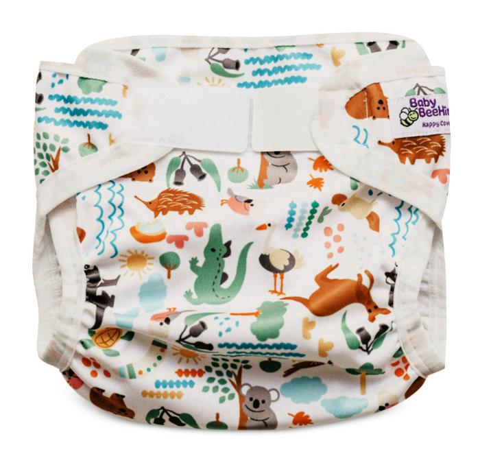 輕質防水透氣尿布兜-澳洲動物 Baby BeeHinds【兔寶寶部屋】