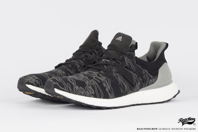 【REACTION】ADIDAS X UNDEFEATED ULTRABOOST BC0472 聯名款 黑迷彩 男生款