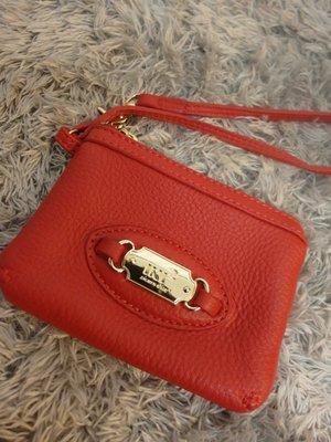 (賣家預定 勿下標)iki2 甜美紅色手拿包(頂級柔軟牛皮)錢包  2R可參考 台北市