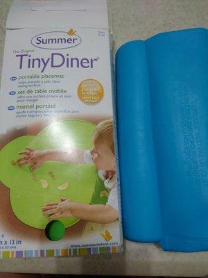 tinydiner 攜帶式防水學習餐墊 兒童餐墊 盒裝