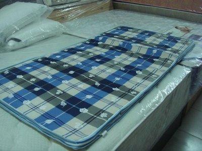 【四季戀寢具】單人床墊390元另有雙人尺寸.塑蓆面軟式單人折疊床墊薄床墊三折床墊
