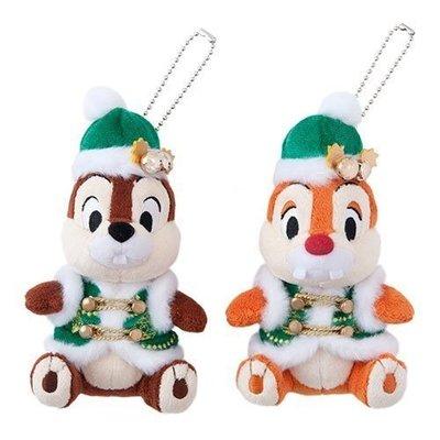 東京迪士尼 TOKYO DISNEY CHIP DALE 奇奇蒂蒂 2017 聖誕 吊飾 *購自日本**