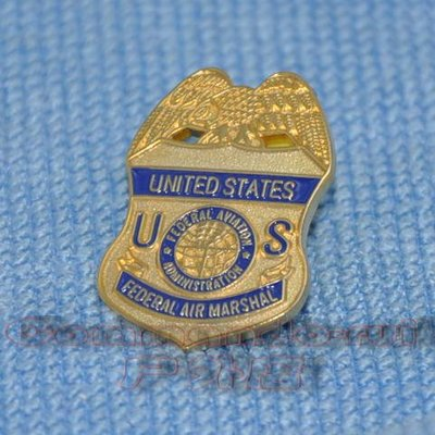 美國聯邦航空管理局/FAA 航空乘警/FEDERAL AIR MARSHAL徽章/胸針