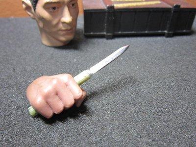 KB8Z古代部門 1/ 6精緻忍者暗殺小飛刀一把(金屬製刃部) mini模型 花蓮縣