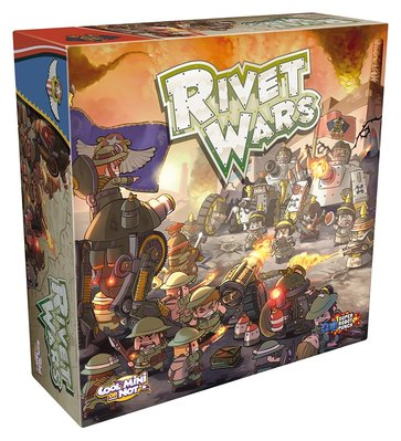 Rivet Wars 鉚釘戰爭 英文正版桌游 現貨