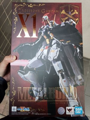 全新日版 MB Metal Build Gundam X1 crossbone 單膠紙 (元朗西鐵交收)