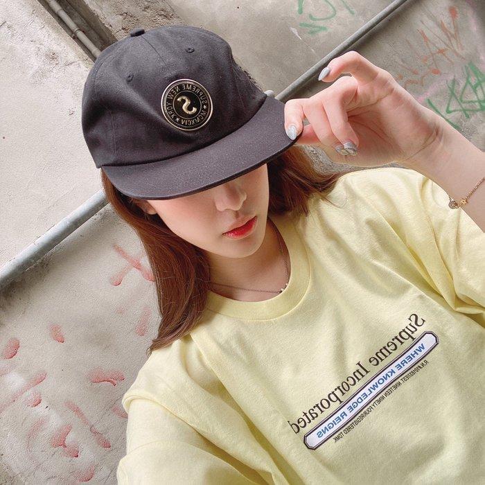 玉米潮流本舖 SUPREME Chino Twill Gel S Logo 六分割帽 FW19H78 WEEK8