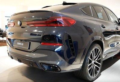 BMW 原廠 Individual 高亮黑 黑色 尾飾管 飾管 排氣管 For G06 X6 40i M50i