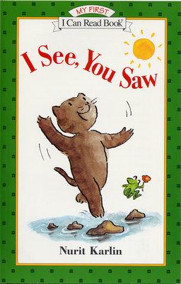 *小貝比的家*I SEE YOU SAW/ MY FIRST/平裝+CD/3-6歲