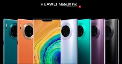 熱賣點  華為 mate 30 pro 8+128/8+256G /4G/5G版  全新  huawei  黑紫綠銀