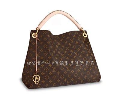 *Ann SHOP*LV Monogram ARTSY MM肩背、手提包(M40249)