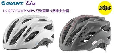 2020新品 捷安特 GIANT Liv REV COMP MIPS 亞洲頭型公路車安全帽 女性專用