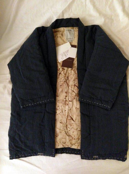 ~CHI~ Visvim sanjuro kimono down jacket indig